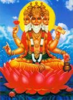 The Supreme God as Brahma the Creator