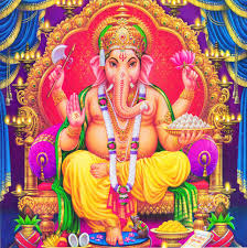 Ganesh the son of Parvsati and Shiva.