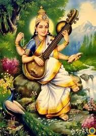 Sarasvati Devi (the goddess of learning)